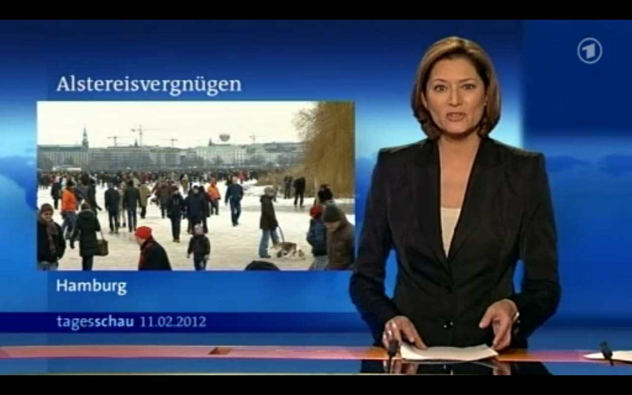 ARD Tagesschau 110212 - Großveranstaltung