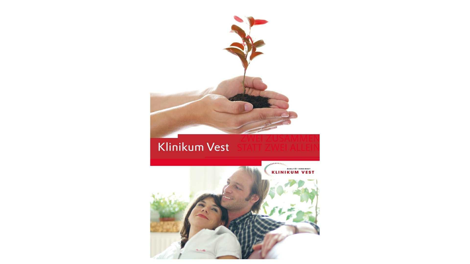 Broschüre Klinikum Vest - Werbemittel