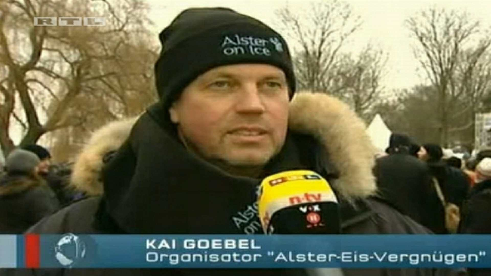 RTL Alster on Ice 2012 - Großveranstaltung