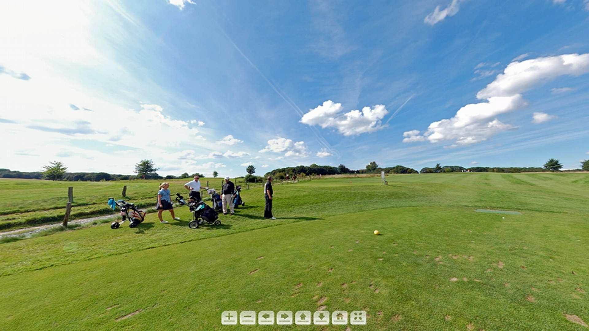 duesselburger 360Grad Golfplatz - 360 Grad Animation
