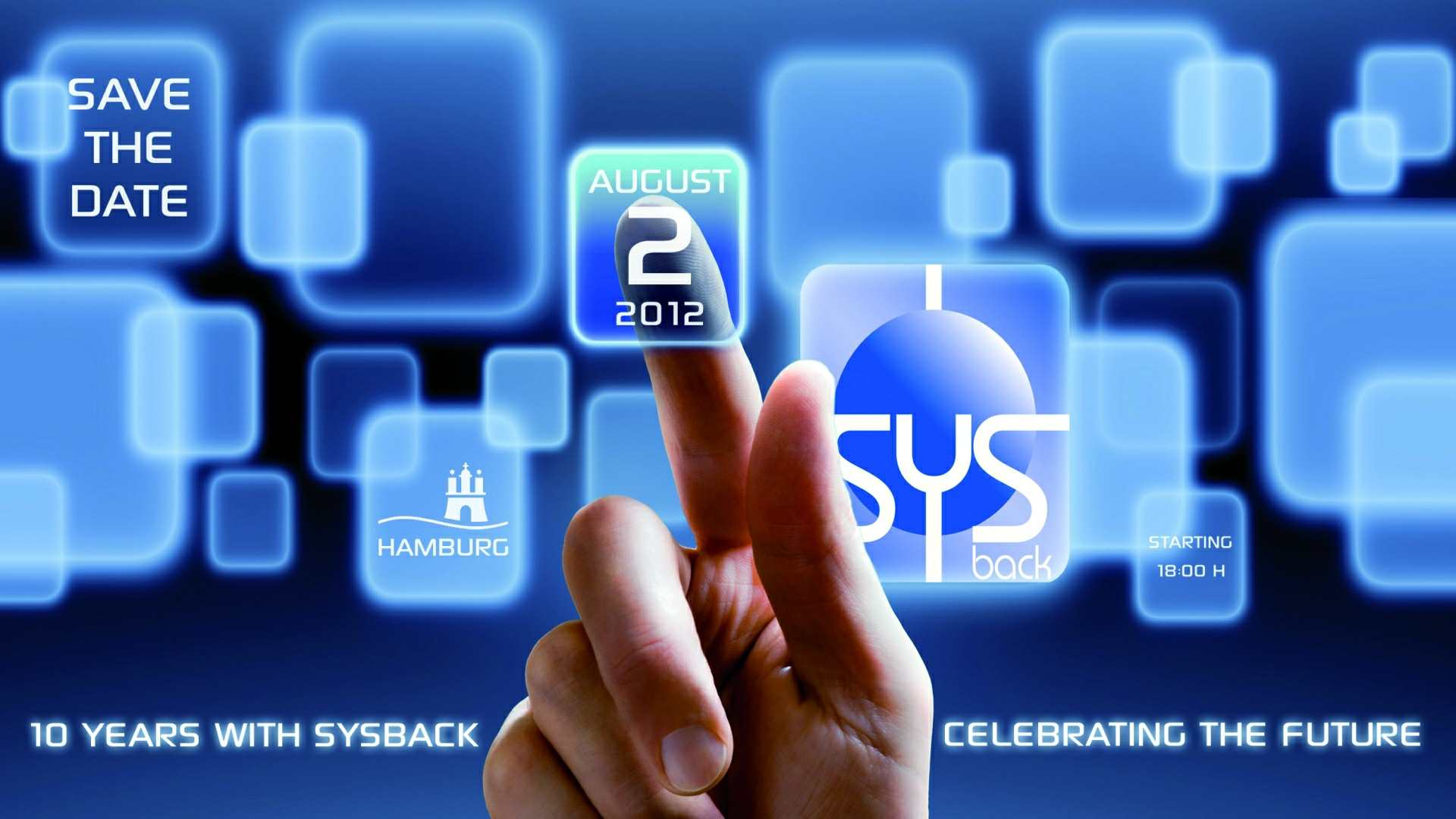 ref 63 Sysback Save the date - Firmenevent