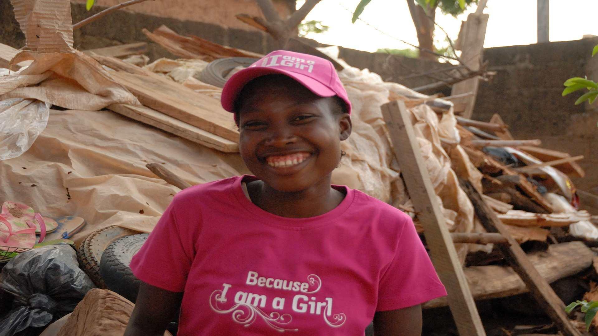 Burkina Plan Mädchen 1 - Organisationsfilm