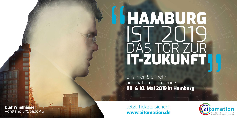 BANNER AITOMATION 2019 HAMBURG